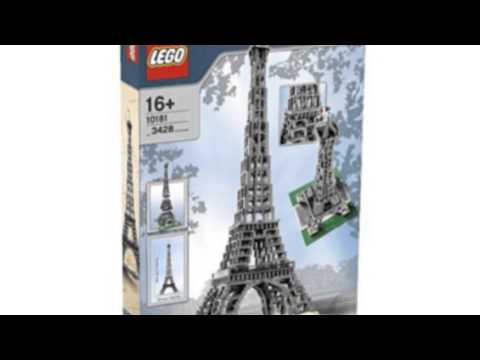 Lego Make And Create Eiffel Tower 1:300