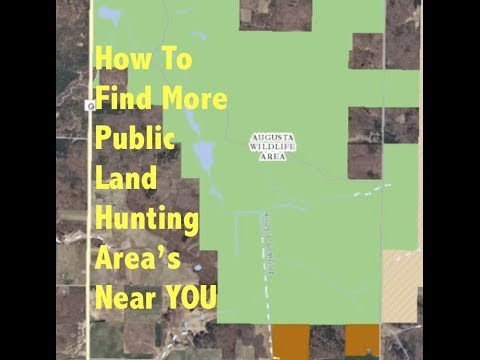 Wisconsin DNR Managed Lands. Find More Public Land In Your Backyard To Hunt Big Bucks