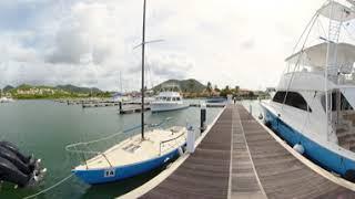 View the Beautiful Sunshine of Rodney Bay Marina   Saint Lucia Tourism