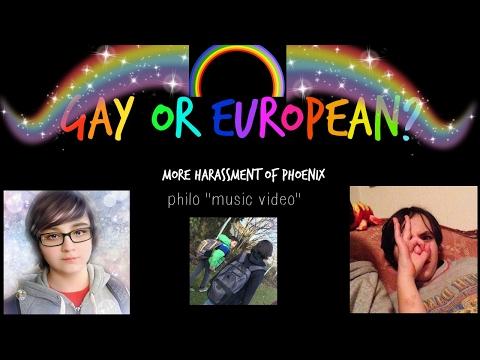 Philo Music Video/Gay or European