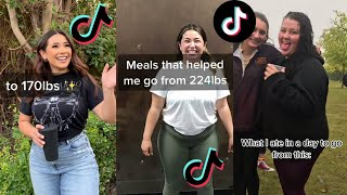 Weight Loss Glow Ups That Are Almost Unrecognizable! Motivational Tiktok Compilation