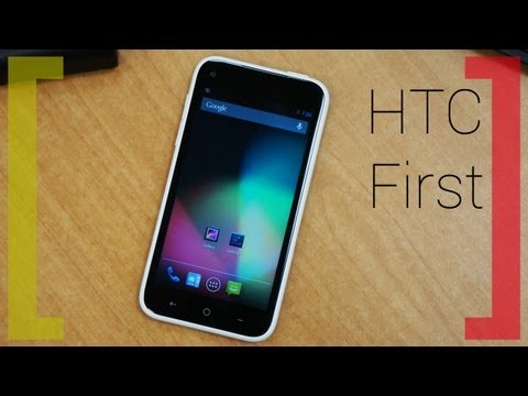 Первое знакомство с HTC First