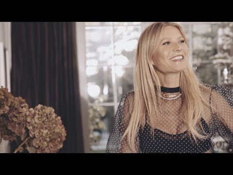 Gwyneth Paltrow Gets Ready for The Holidays In The New December G.Label