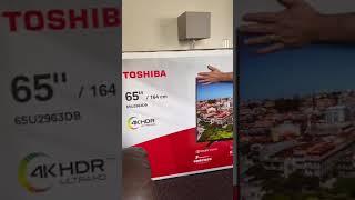 The New TV. Toshiba 65inch