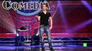 El club de la comedia - David guapo : Punset anunciando pan bimbo