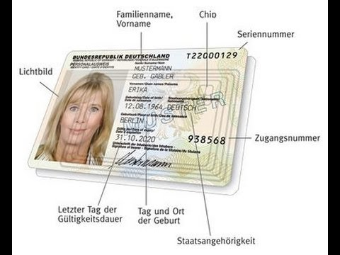 Rfid chip personalausweis