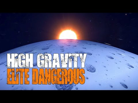 Elite: Dangerous Horizons - Landing and Driving on a 9.77g Planet
