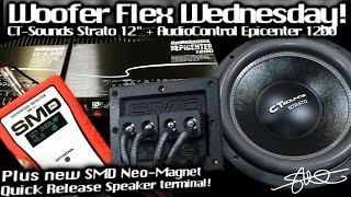 Woofer Flex Wednesday! CT Sounds Strato 12