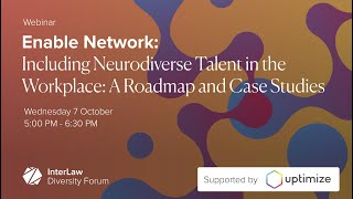 Including Neurodiverse Talent in the Workplace: A Roadmap and Case Studies