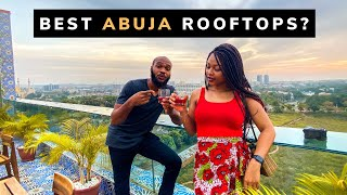 I Tried Every Rooftop Resturant In Abuja Nigeria!