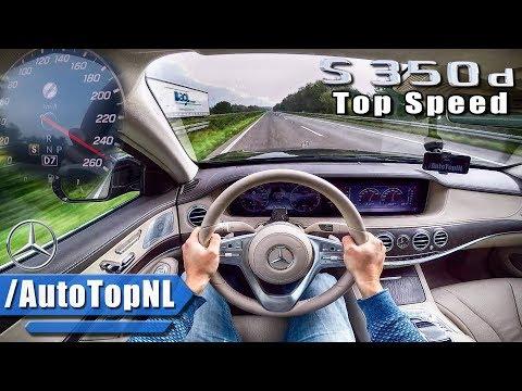 2018 Mercedes Benz S Class S350d AUTOBAHN POV TOP SPEED by AutoTopNL