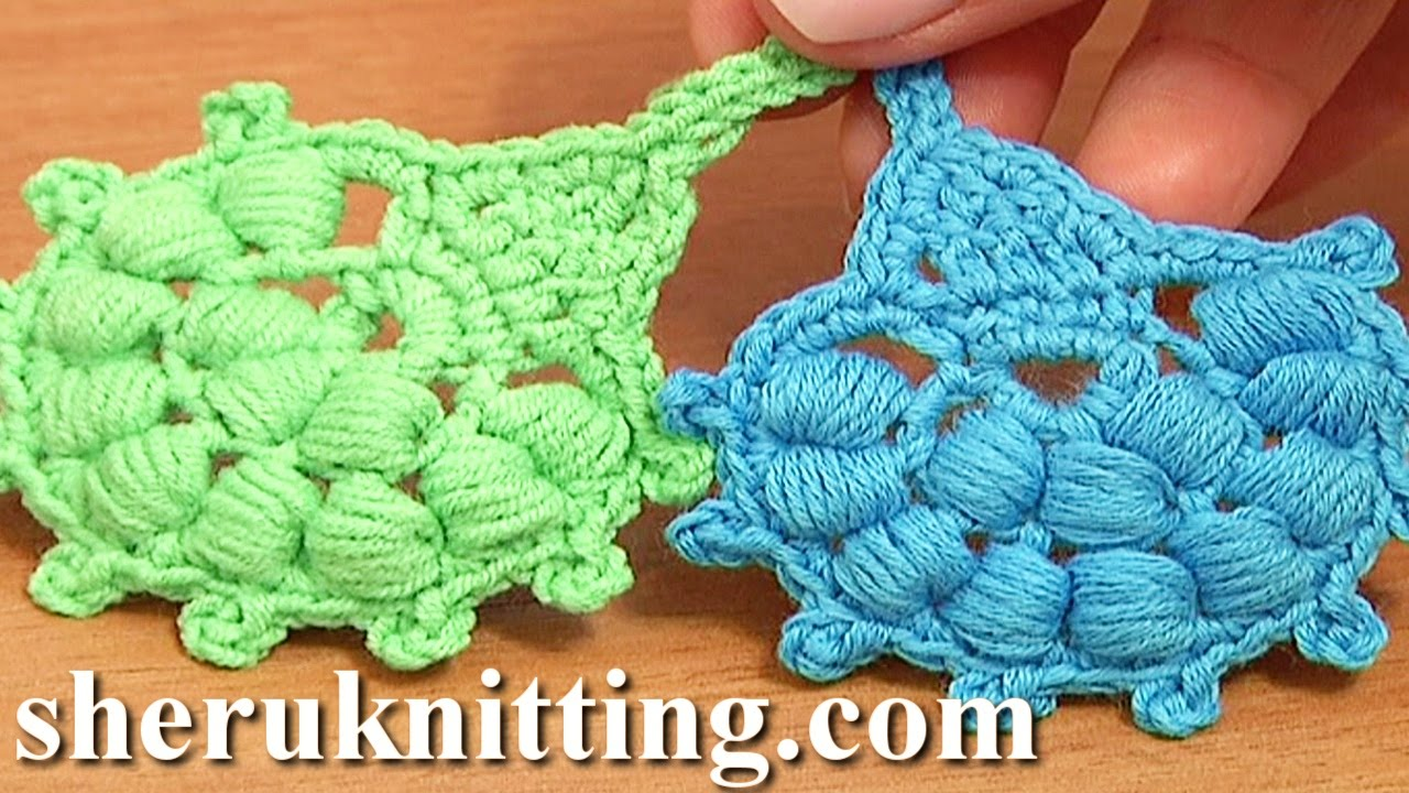 Crochet puff stitch leaf tutorial 29 crochet leaf library youtube bankloansurffo Image collections