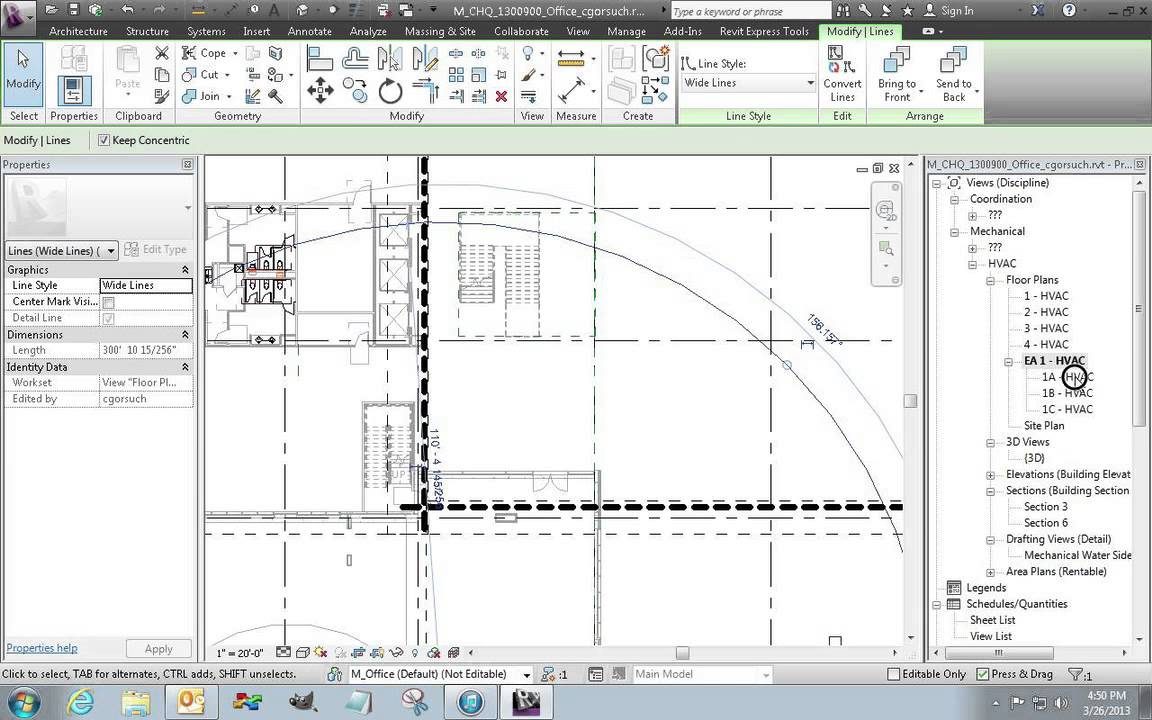 Drawing Lines In Revit : Revit views dependent for matchline plans youtube