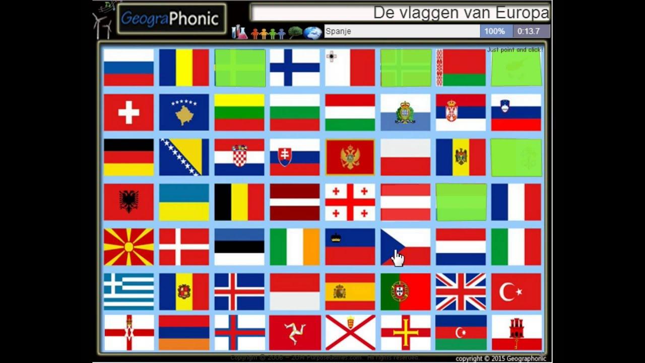 Betere De vlaggen van Europa - YouTube XE-01