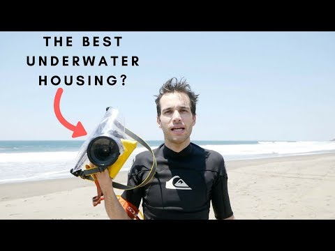 UNDERWATER HOUSING REVIEW FOR DSLR: EWA MARINE UB-100 💦📷