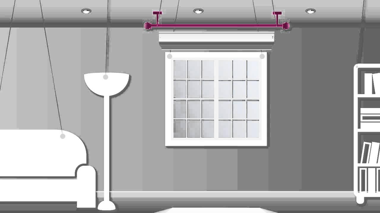 comment poser votre tringle a rideaux