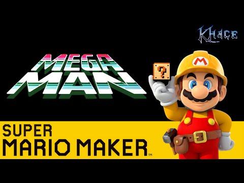 Mega Man 1 Remade in Super Mario Maker