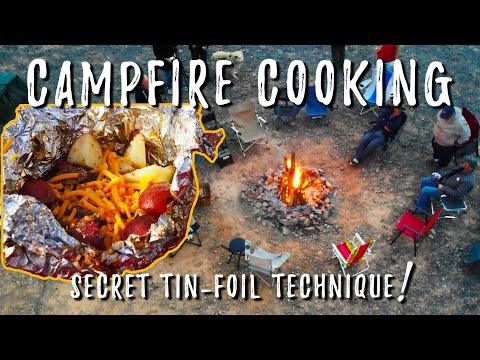 Campfire Cooking With Tin Foil (Van Life Cooking)