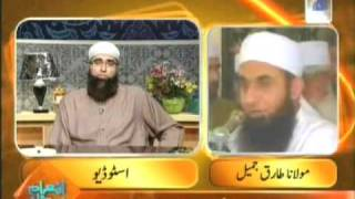 moulana tariq jameel sahib in junaid jamshed s program