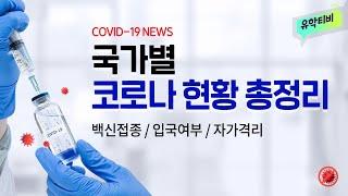 [코로나19] 코시국 유학, 어학연수 가능한 국가는 어딜까? 미국, 영국, 캐나다 코로나 백신 접종 현황 및 입국 가능 여부 총정리