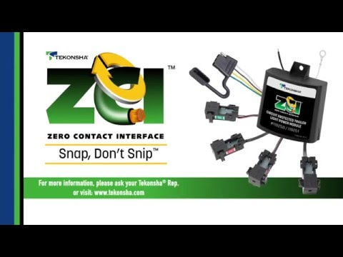 Snap, Don't Snip™ - Tekonsha® ZCI™: Zero Contact Interface