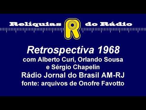 Retrospectiva 1968 (Rádio Jornal do Brasil RJ)