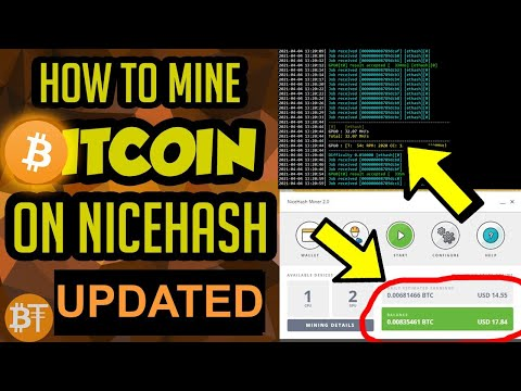 *EASY GUIDE* How To Mine Bitcoin (BTC) On Nicehash In 2020