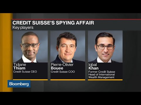 Spy Scandal Credit Suisse Backs Ceo Thiam Youtube