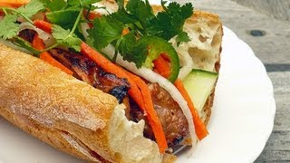 Ω (hd) Asmr - Eating A Home Made Vietnamese Sandwich, Bánh Mì