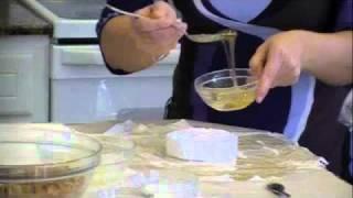 Appetizers -baklava Filo Brie
