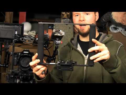 CPM Film tools DSLR Rig configured for Light weight tripod use. - DSLR Film NOOB