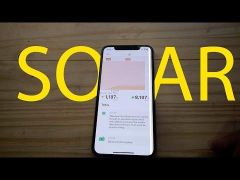 Using iPhone to Monitor Solar Energy Production  - Sense app