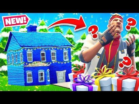 SANTAS Presents HOUSE Challenge *NEW* Game Mode in Fortnite Battle Royale