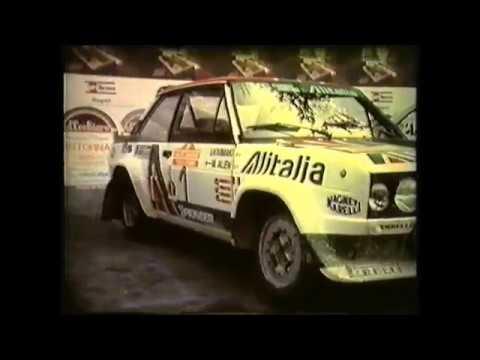 Walter Röhrl Rallye San Remo 1979