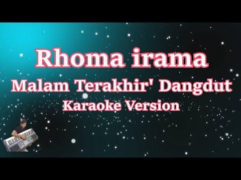 Malam Terakhir - Karaoke Dangdut Tanpa Vocal