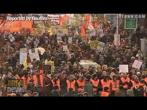 Thousands Protest Irish Nightmare Economy