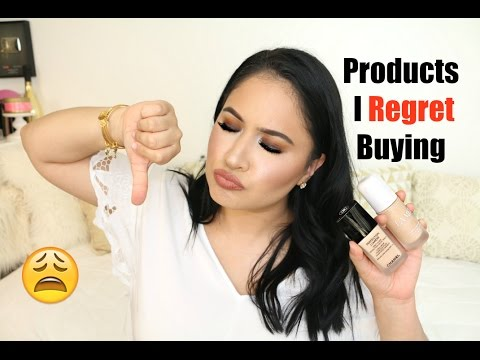Products I Regret Buying | Luxury Makeup
