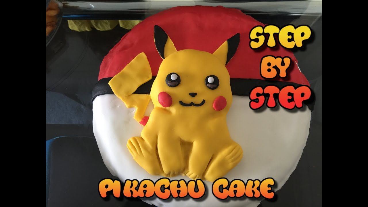 Pikachu Cake Pokemon Birthday Cake 2016 Easy To Make