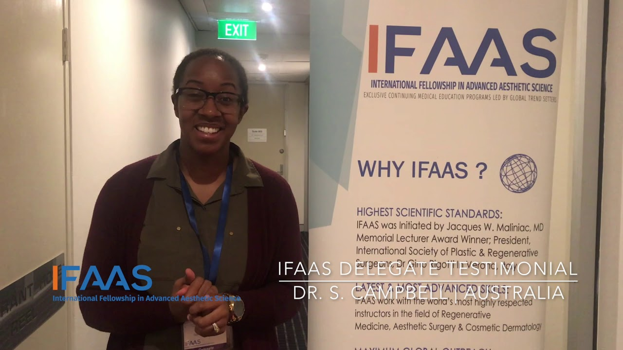 IFAAS Delegate Testimonial - Dr  S Campbell | Australia