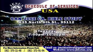 Please Watch!!! JMCIM Central Live Streaming of WEDNESDAY MIDWEEK SERVICE | JUNE 19, 2019. thumbnail