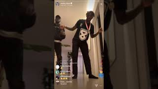Hd Footballer Moise Kean Dancing To Zaehd Ceo All In Hitting The Woah And Shoot Must Watch Youtube