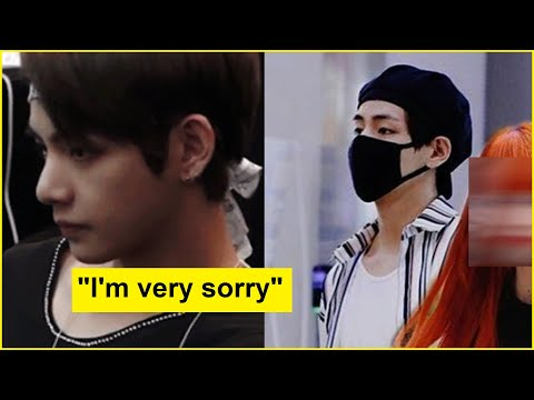 BTS V Seen Helping Paparazzi out Confesses Love to Old Girlfriend