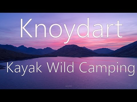 A Kayak, wild camp Knoydart Adventure to bag a Munro and Corbett