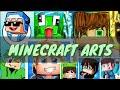How to make Minecraft Arts (Flipaclip)