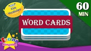 Kids vocabulary compilation - Words Theme collection - Word cards - review
