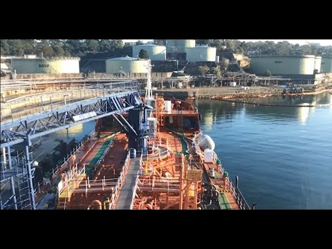 A day in the life of our marine bunker barge