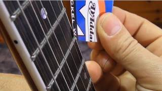 Truss rod adjustment: how to adjust the truss rod - frudua.com