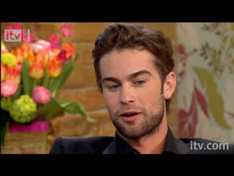 This Morning 2012:  Wednesday 14th April  Chace Crawford