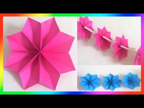 Paper Flowers🌸✿ Flowers for Parties ✿🌸 Paper Crafts ✿