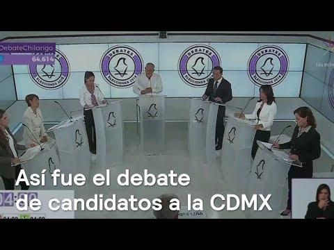 Resumen del primer debate de candidatos al Gobierno de la CDMX - Despierta con Loret